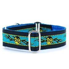 Paw Yang Teal Dog Collar