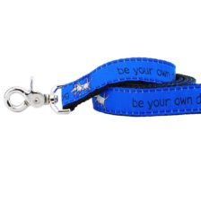 Be Your Own Dog Teddy The Dog Blue 5ft Essential Leash