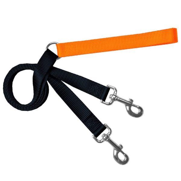 Training Leash Black and Orange