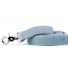 Silver Velvet Dog Leash