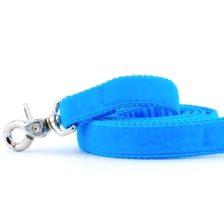 Turquoise Velvet Dog Leash