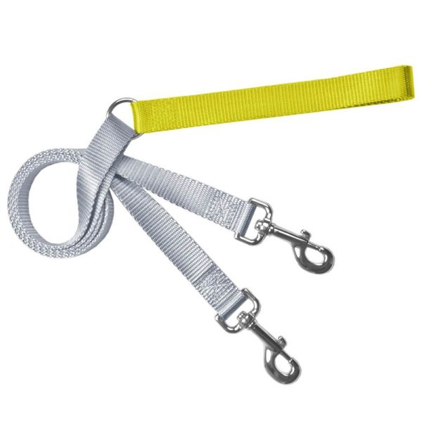 Training Leash Silver and Yellow