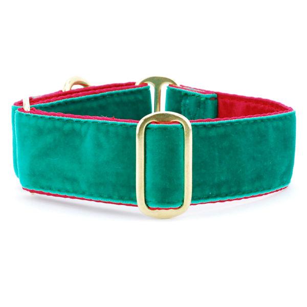 Satin Lined Holiday Velvet Green/Red
