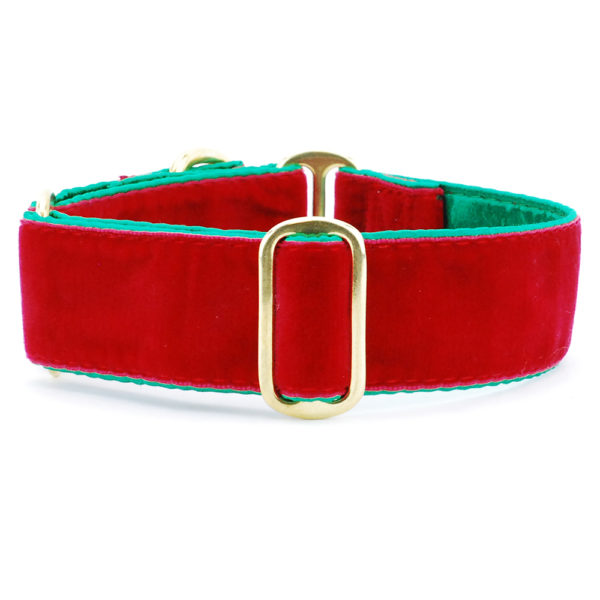 Satin Lined Holiday Velvet Red