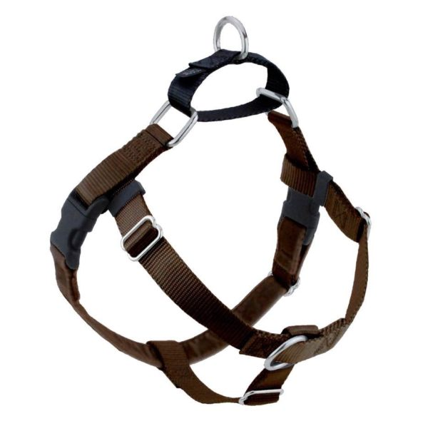 Brown Freedom No-Pull Dog Harness
