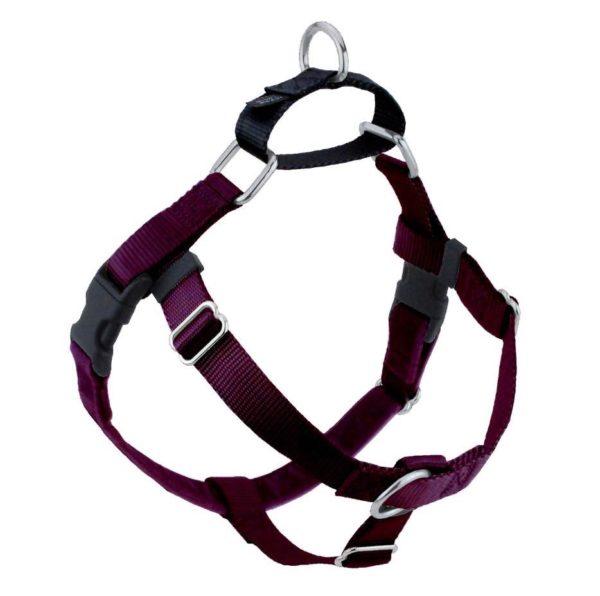 Burgundy Freedom No-Pull Dog Harness