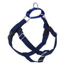 Navy Blue Freedom No-Pull Dog Harness
