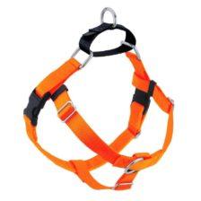 Neon Orange Freedom No-Pull Dog Harness