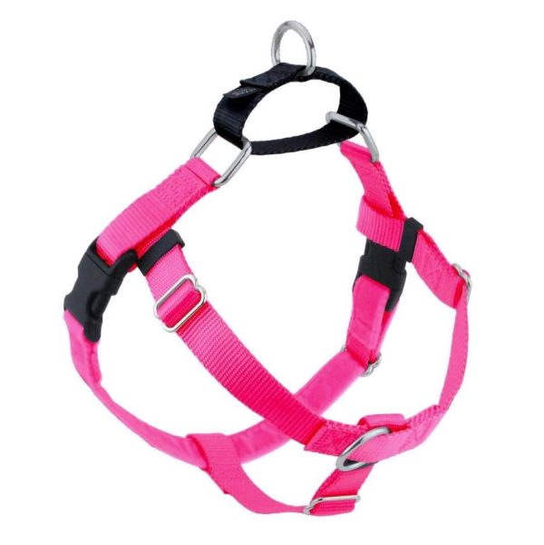 Hot Pink Freedom No-Pull Dog Harness