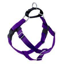 Purple Freedom No-Pull Dog Harness