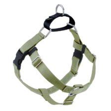 "Tan 1"" Freedom No-Pull Dog Harness"