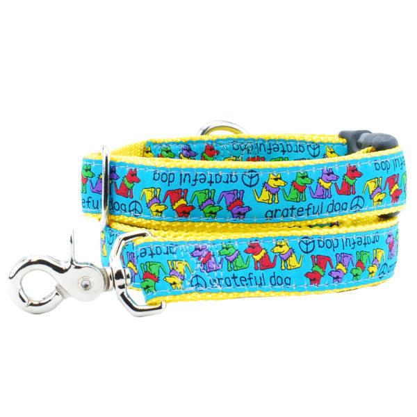 hippie grateful dog leash