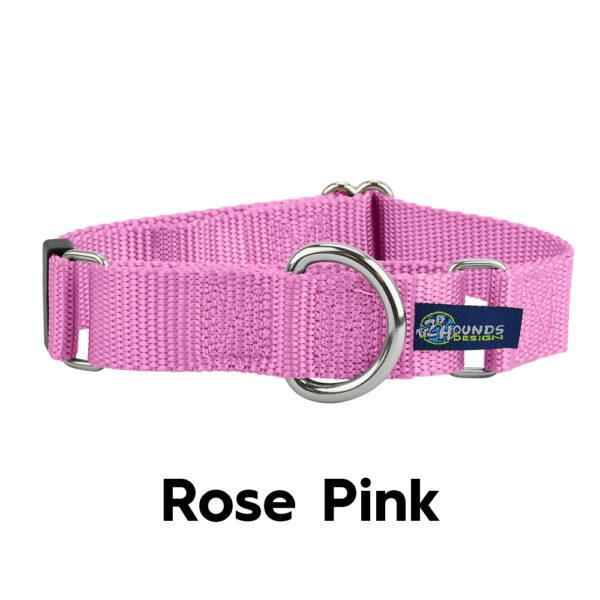 Rose Pink Martingale Collar