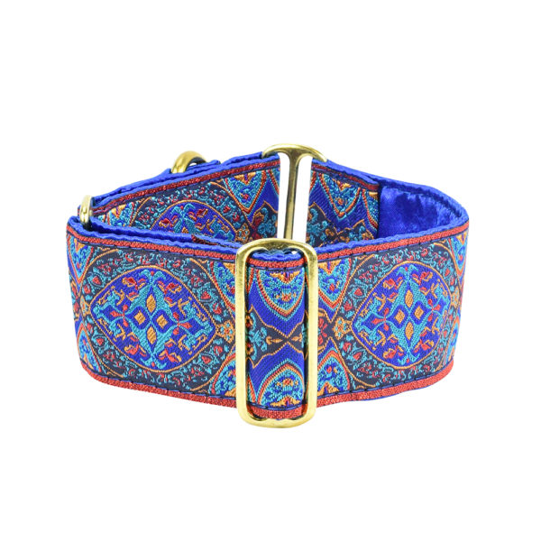 """2"""" Wide Martingale Collar Aristocracy Blue"""