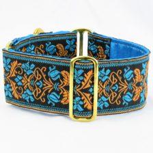 "Filigree 2"" Wide Martingale Dog Collar"