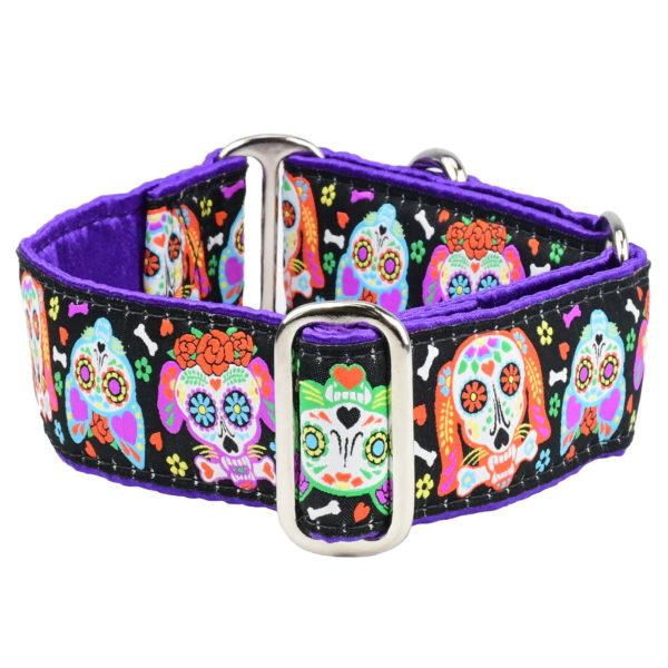 XOLO Sugar Skull Dog Collar