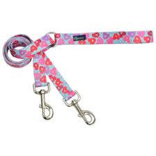 donut dog leash